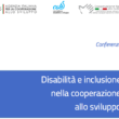Prof Mario Biggeri participated to the conference on disability and inclusion in the Italian development cooperation