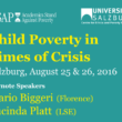 Prof. Mario Biggeri Keynote Speaker at the International Conference on Child Poverty