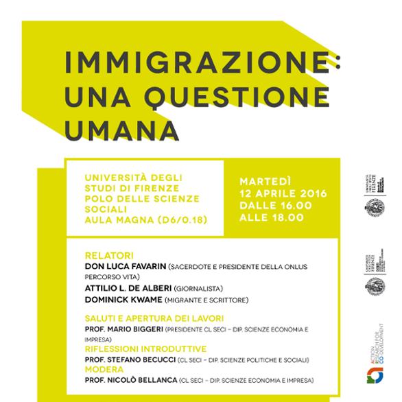 Immigrazione questione umana