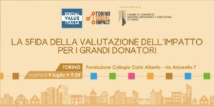social value italia valutazione dell'impatto delle donazioni dei grandi donatori
