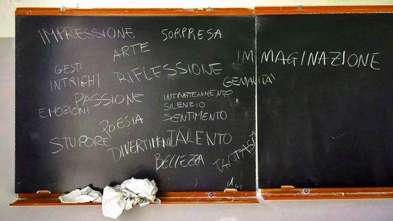 povertà educativa sogni e bisogni valutazione intermedia progetto dispersione scolastica schoo abandonement mid term evaluation