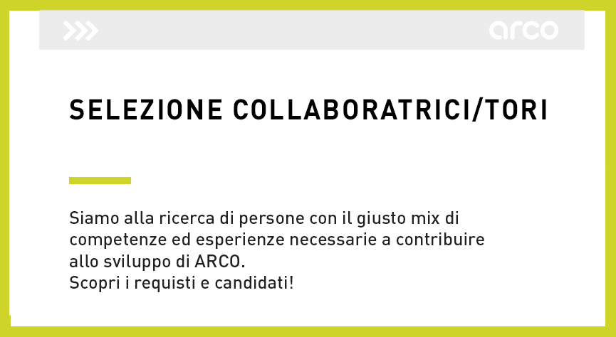 candidature spontanee CV lavoro collaborazione progetti candidati application submission