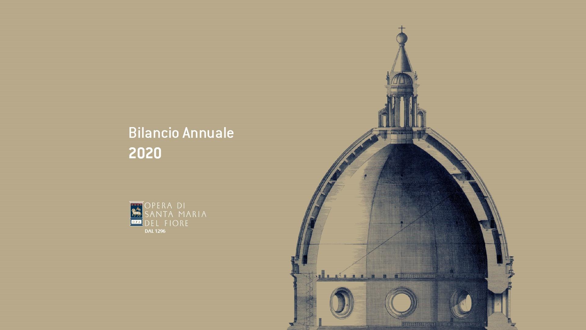 bilancio sociale annuale Opera Santa Maria del Fiore Duomo FIrenze Florence social annual report stakeholder engagement